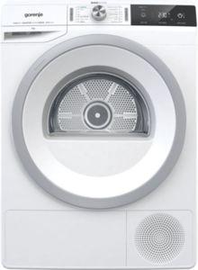 Сушилня Gorenje DA83IL/I, Клас А+++, Термопомпа, Обем 8кг, Инверторен PowerDrive мотор, Бяла